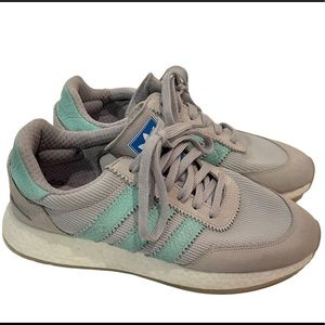 ADIDAS I-5923 Grey / Mint/ Crystal Boost Sneakers